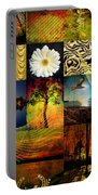 Collage Of Colors Portable Battery Charger