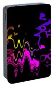 Color Melting Abstract Portable Battery Charger