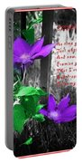 Color My World Portable Battery Charger