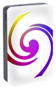 Color Spiral Portable Battery Charger