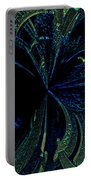 Color Study 02 Green Blue Portable Battery Charger