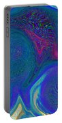 Color Swirl Abstract Portable Battery Charger