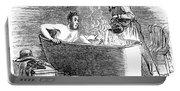 Colorado Bathhouse, 1879 Portable Battery Charger