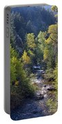 Colorado Left Hand Creek Boulder County Autumn View Portable Battery Charger