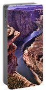 Colorado River At Horseshoe Bend Portable Battery Charger
