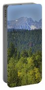 Colorado Rocky Mountain Continental Divide Autumn View Portable Battery Charger