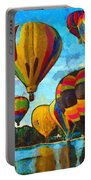Colorado Springs Hot Air Balloons Portable Battery Charger by Nikki Marie Smith