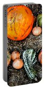 Colorful Fall Harvest Portable Battery Charger