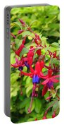 Colorful Fuchsia Portable Battery Charger