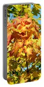 Colorful Leaf Cluster Portable Battery Charger