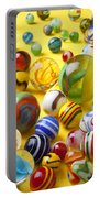 Colorful Marbles Two Portable Battery Charger