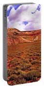 Colorful Mesas At Fossil Butte Nm Butte Portable Battery Charger