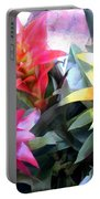 Colorful Mixed Bromeliads Portable Battery Charger