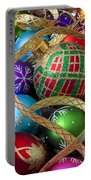 Colorful Ornaments With Ribbon Portable Battery Charger