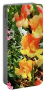 Colorful Snapdragons Portable Battery Charger