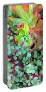 Colorful Succulent Plants For You Portable Battery Charger