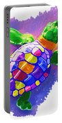 Colorful Turtle Portable Battery Charger
