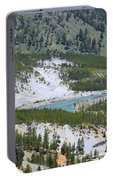 Colorful Yellowstone Valley Portable Battery Charger