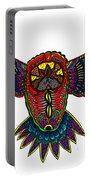 Coloured Owl Portable Battery Charger