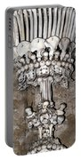 Column From Human Bones And Sku Portable Battery Charger