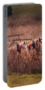 Combining Soybeans Portable Battery Charger