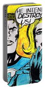 Comic Strip Portable Battery Charger