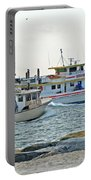 Coming Home - Barnegat Inlet Nj Portable Battery Charger