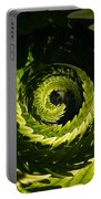 Common Polypody Swirl Portable Battery Charger