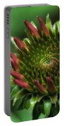 Coneflower Close-up Portable Battery Charger