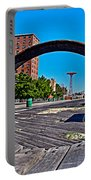 Coney Island Bench View Portable Battery Charger