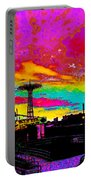 Coney Island In Neon B Flat Minor Portable Battery Charger