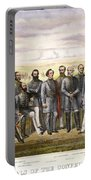 Confederate Generals Portable Battery Charger