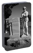 Confederate Soldier Memorial Portable Battery Charger