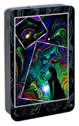 Conjurer Of Dreams And Delusions Portable Battery Charger