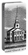 Connecticut: Church, 1836 Portable Battery Charger