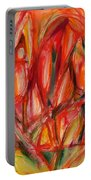 Contemporary Painting Three Portable Battery Charger