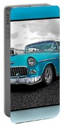 Cool Blue Chevy Portable Battery Charger