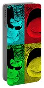 Cool Cat Pop Art Portable Battery Charger