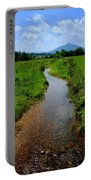 Cool Mountain Stream Portable Battery Charger by Frozen in Time Fine Art Photography