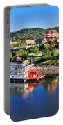 Coolidge Park During River Rocks Portable Battery Charger