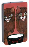 Copper Kitty Portable Battery Charger