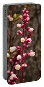 Coral Bells Flower Stem Portable Battery Charger