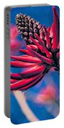 Coral Tree Flower Portable Battery Charger