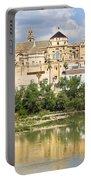 Cordoba Cathedral And Guadalquivir River Portable Battery Charger