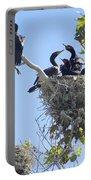 Cormorants Nesting Portable Battery Charger