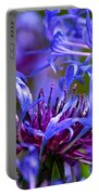Cornflower Color Portable Battery Charger