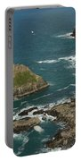 Cornish Seascape St Agnes  Portable Battery Charger