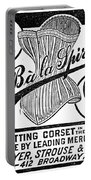 Corset Advertisement, 1888 Portable Battery Charger