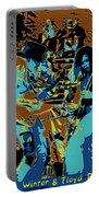 Cosmic Winter Blues 1975 Portable Battery Charger