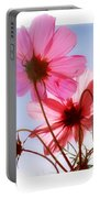 Cosmos Flowers Portable Battery Charger